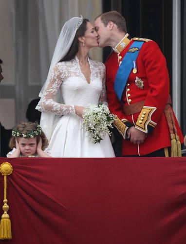 威廉王子和凱特新婚