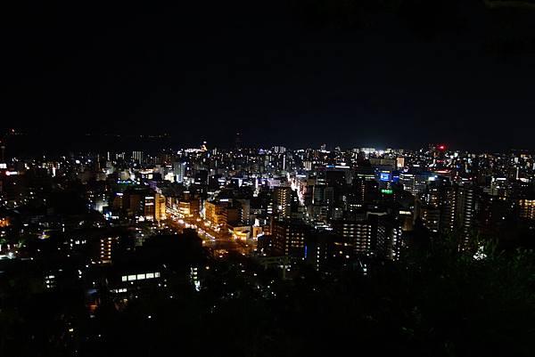 城山公園夜景