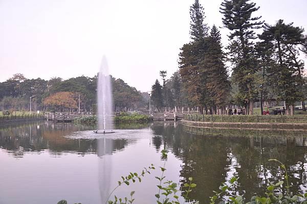 141229青年公園噴水池