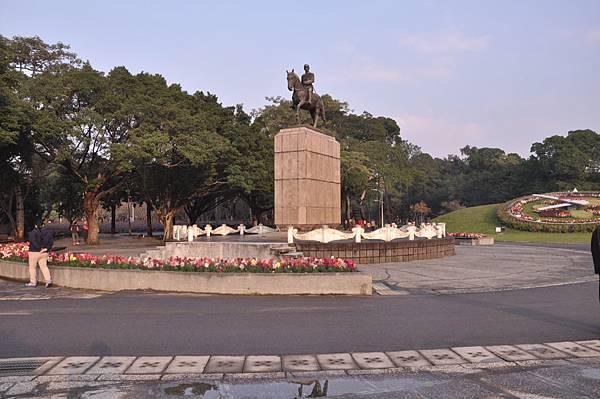 141229青年公園蔣公銅像