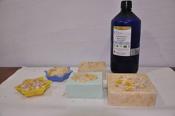 小塊肥皂處裡 裝填