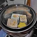 小塊肥皂處裡 準備蒸