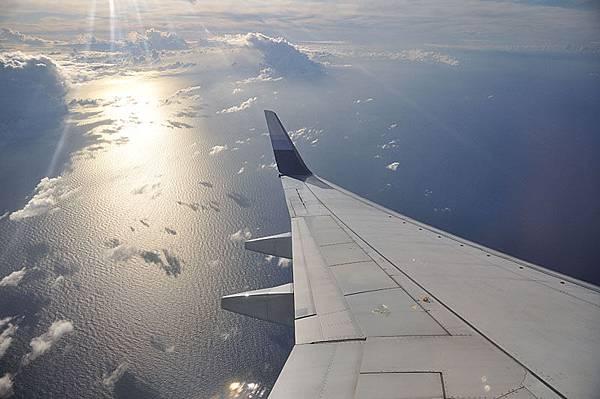 飛機上的景