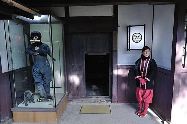 忍者博物館門口