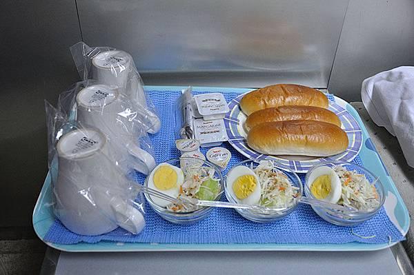 有附簡單的早餐