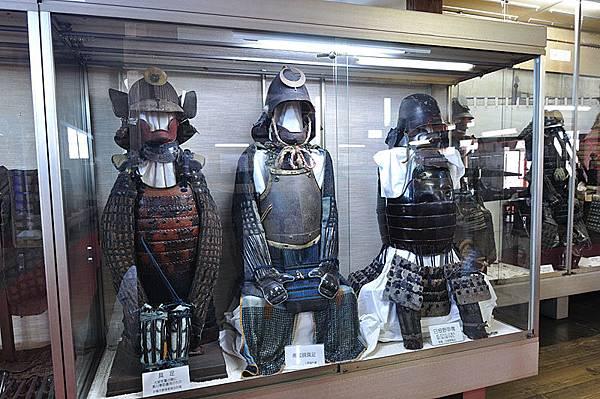 上野城內部
