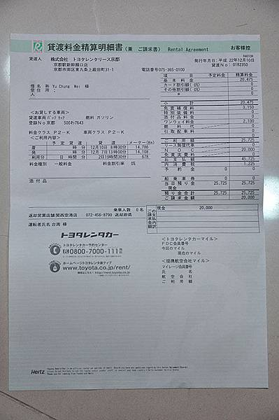 車子刮傷被索賠兩萬日幣...!