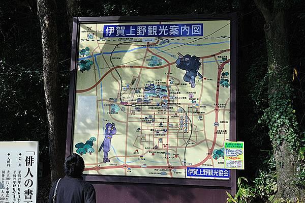 上野公園地圖