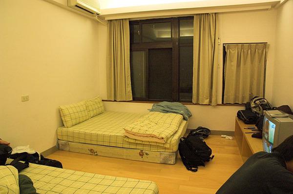 我們睡的房間
