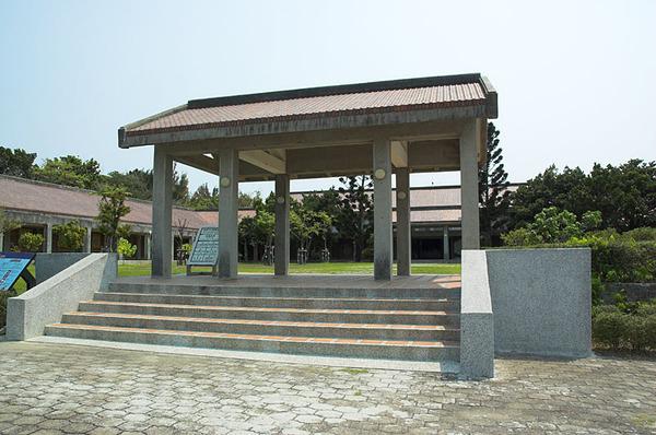遊客中心的大門