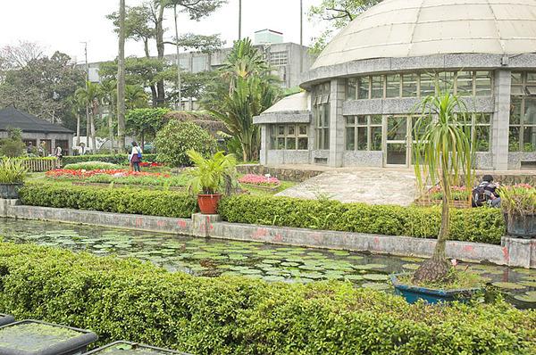 植物園的溫室