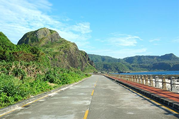 綠島的風景