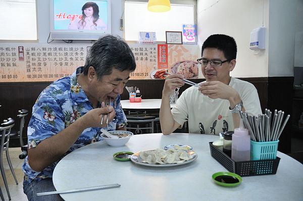 回師大和拎老師在附近吃水餃