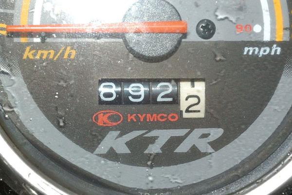 這次跑了892公里
