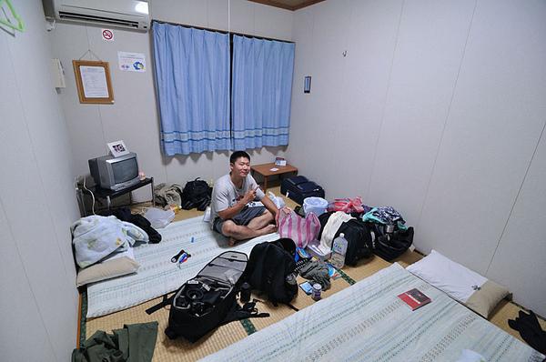 拍一下我們住的房間