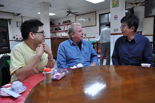 兩位林老師和Bob