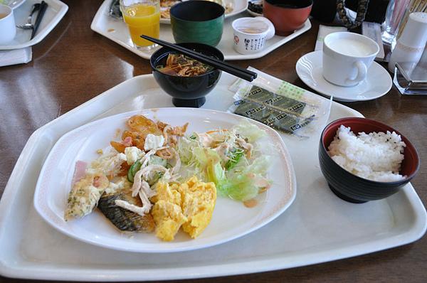 中西日式混搭早餐
