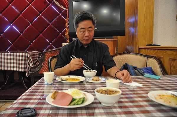 台南哥爸妻夫飯店早餐