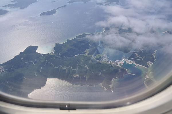 是我們早上才離開的渡嘉敷島!!
