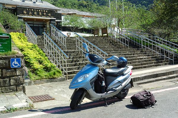 下山途中路過梅山再拍一張