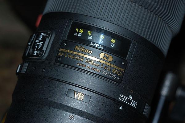 600mm的奈米新鏡