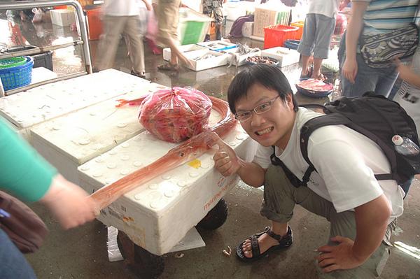 好大的馬鞭魚!!