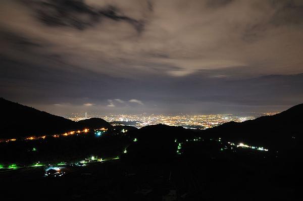 今晚台北市的天空蠻清澈的...