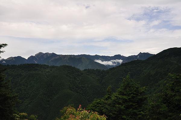 這趟第一次看到聖稜線