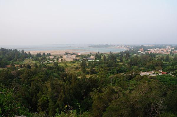 金門塔山上的風景