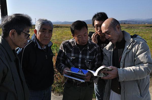 遇到了一些日本大叔也在賞鳥