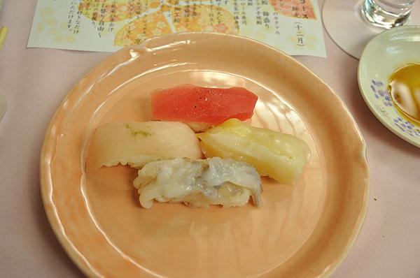 生魚片握壽司