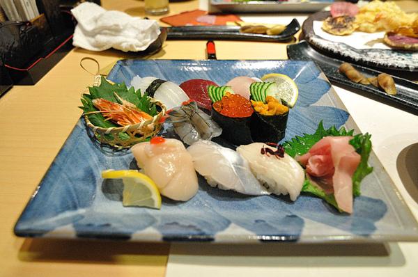 超棒的握壽司!!