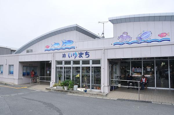 來到了離港不遠的魚市場...