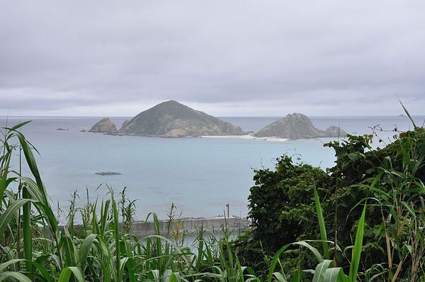 海邊的小小島