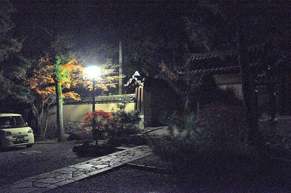 夜間的大德寺