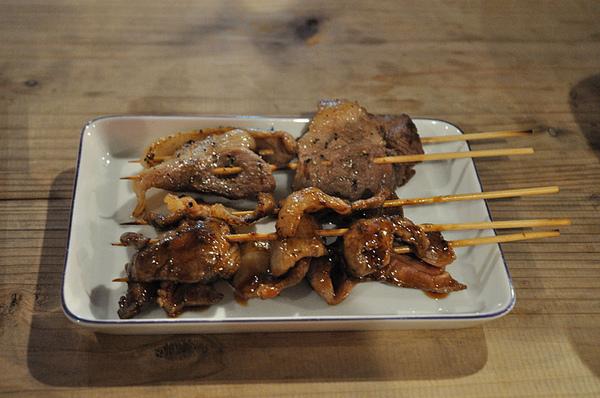 好吃的豬肉串!!