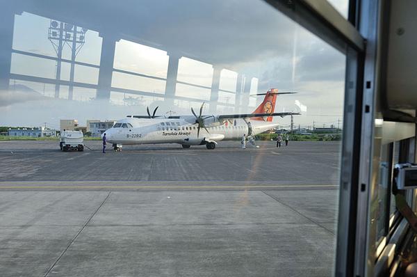 我們即將要搭的復興航空飛機