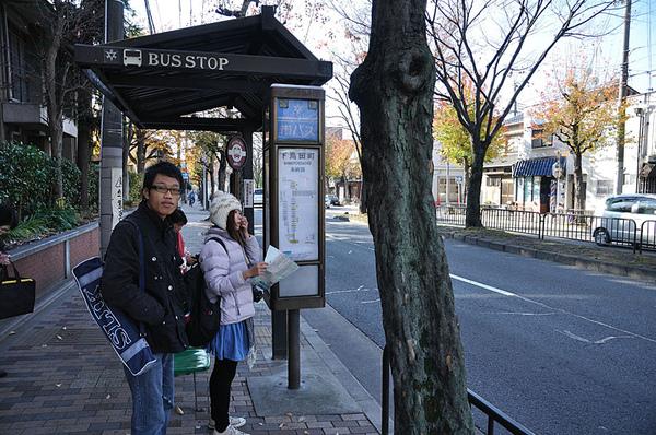 附近的公車站