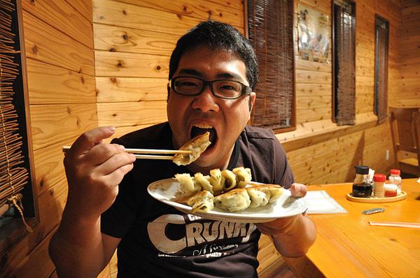 小胖哥的日式鍋貼!!