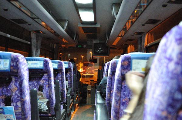 和Ota桑搭乘巴士