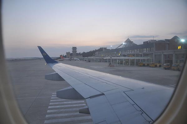 又要起飛回台灣了~