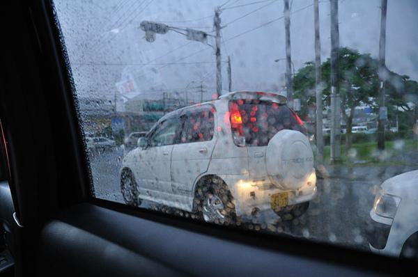 下大雨啦~