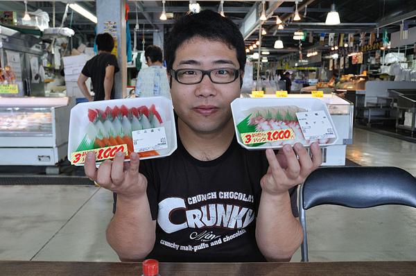 小胖哥和生魚片