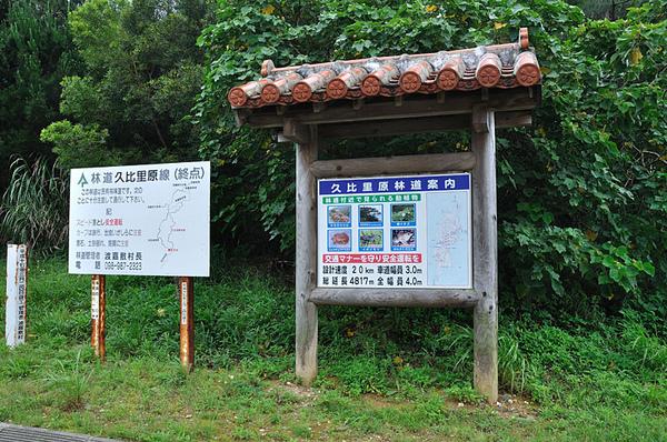 林道的路線圖以及林道內的保育動物