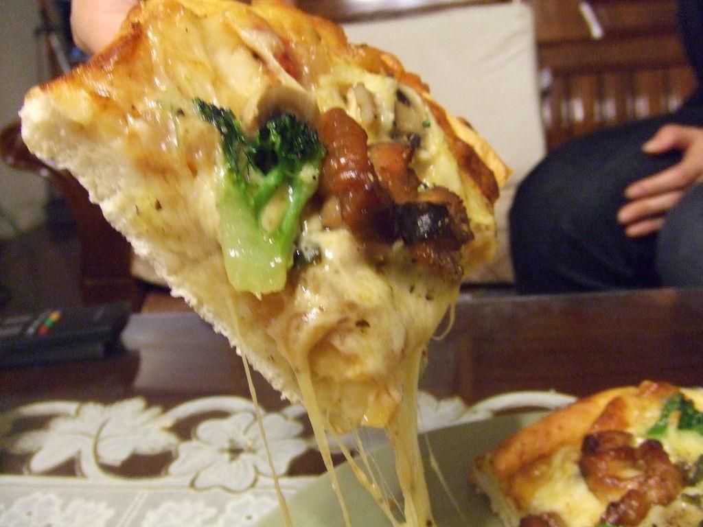 夏威夷海鮮披薩~  三杯雞披薩 015.jpg