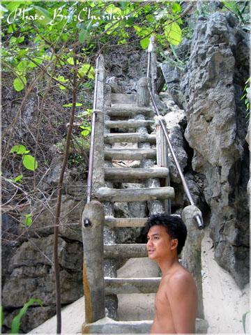 安通 - 前往山中湖階梯
