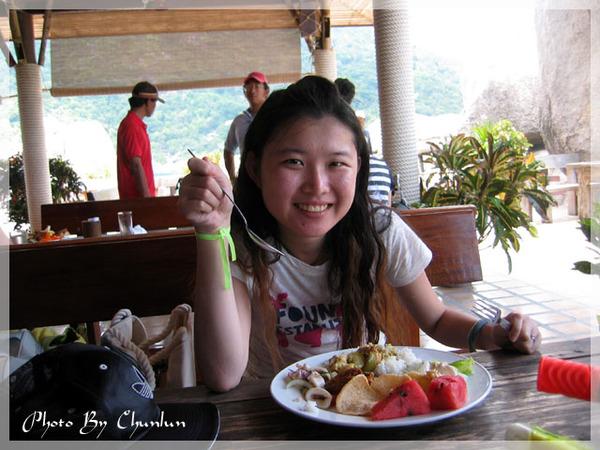 海鷗島 - 午餐