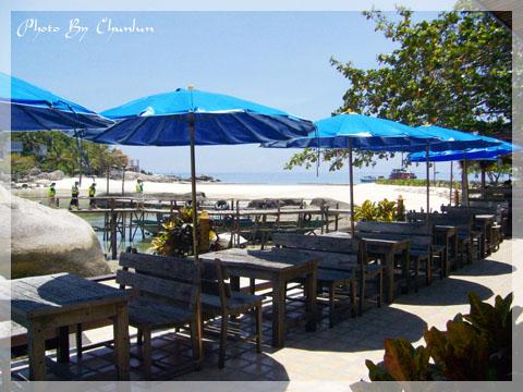 海鷗島 - 用餐處一景