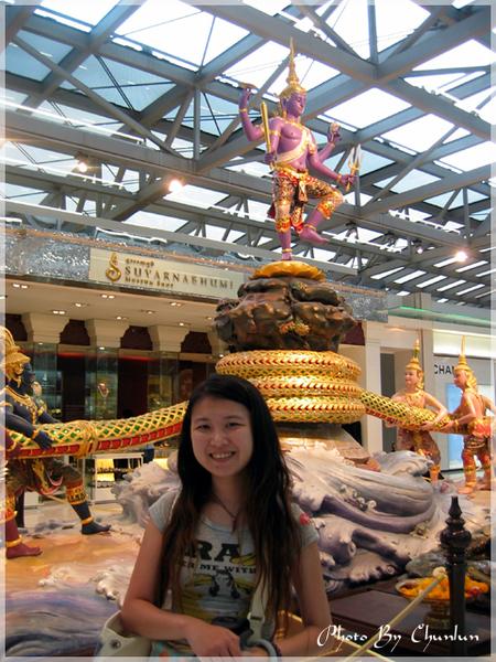 曼谷機場一景