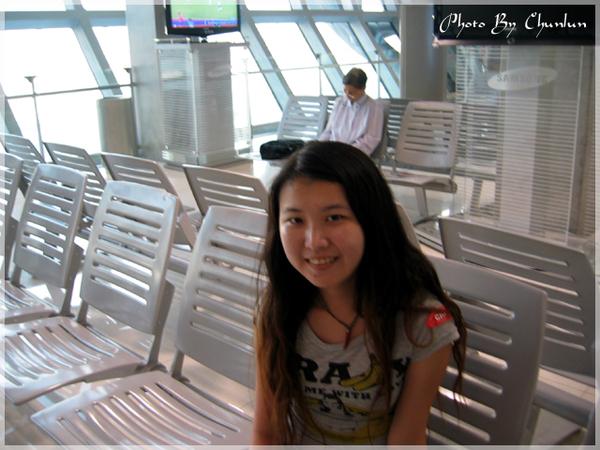 曼谷機場 - 登機室